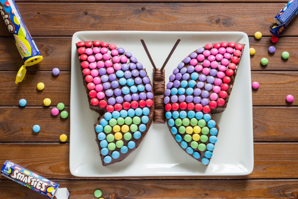 Café hausgemachter Kuchen Kinderkuchen