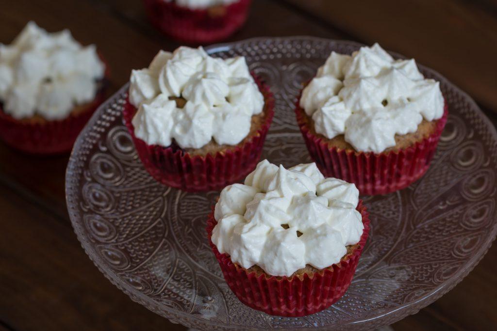 Café hausgemachte Cupcakes
