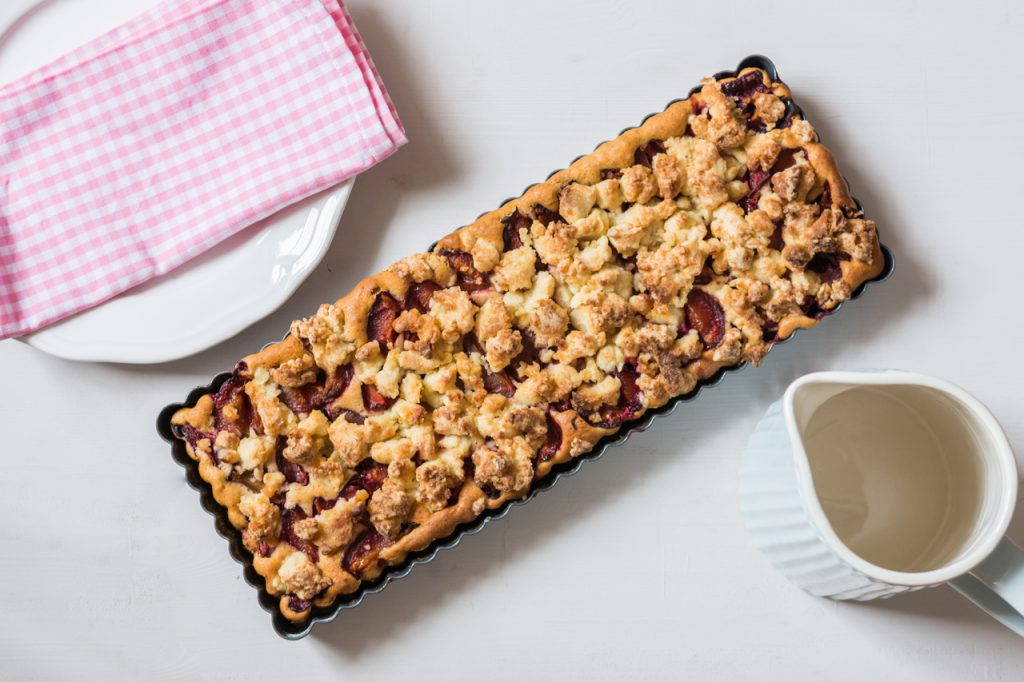 Café hausgemachter Kuchen